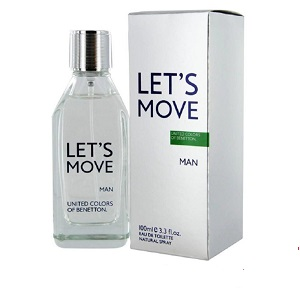Benetton Lets Move Men EDT 100ml