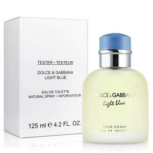 Dolce & Gabanna Light Blue For Men EDT 125ML (Tester)