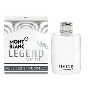 Mont Blanc Legend Spirit For Men EDT 4,5ml (Miniature)