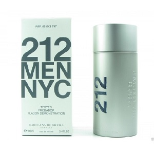 Carolina Herrera 212 Men EDT 100ML (Tester)