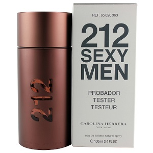 Carolina Herrera 212 Sexy Men EDT 100ML (Tester)