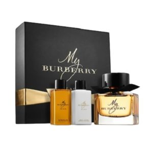 Burberry My Burberry Black For Women (Gift Set)