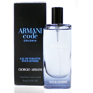 Giorgio Armani Code Colonia For Men EDT 15ml (Miniatur)