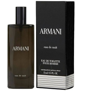 Giorgio Armani Eau De Nuit For Men EDT 15ml (Miniatur)