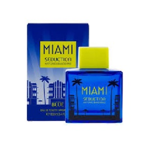 Antonio Banderas Seduction Miami Blue for Men EDT 100ml