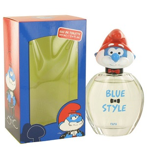 The Smurfs Blue Style 3-D Collection Papa Unisex EDT 50ml