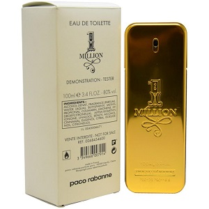 Paco Rabanne 1 Million EDT 100ML (Tester)