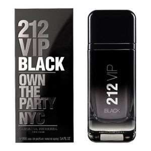 Carolina Herrera 212 VIP Black For Men EDP 100ml
