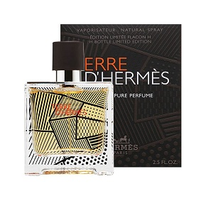 Hermes Terre D'Hermes Limited Edition Flacon H Bottle For Men Pure Parfum 75ml