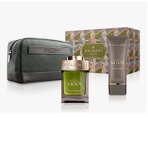 Bvlgari Man Wood Essence For Men (Giftset)